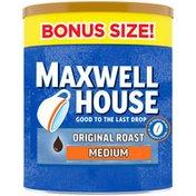 Maxwell House The Original Roast Medium Roast Ground Coffee Bonus Size