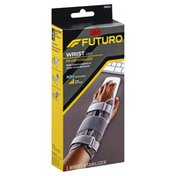 FUTURO Wrist Stabilizer, Deluxe, Left, Firm Support, Adjustable (6-8 Inches)