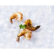 16 to 20 Count Chemical Free Individually Quick Frozen Cooked Peeled Tail-On White Shrimp