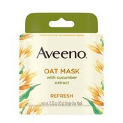 Aveeno Oat Mask With Cucumber Extract