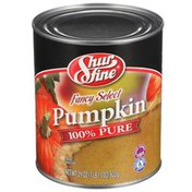 Shurfine 100% Pure Fancy Select Pumpkin