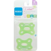 MAM Pacifier, Comfort, 0+ Months