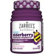 Zarbee's Naturals Children's Elderberry Immune Support Dietary Supplement