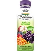 Bolthouse Farms 100% Fruit Juice + Boosts, Acai + 10 Superblend