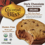 Coconut Bliss Cookie Sandwich, Organic Dark Chocolate