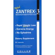 Zantrex-3 Ephedra-Based Diet Pill, Capsules