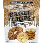 Hometown Bagel Bagel Chips, Chicago Style, Cinnamon Crunch