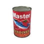 Miso Master Sardines In Tomato Sauce With Chilli