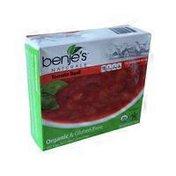Benje's Naturals Tomato Basil Soup
