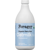Forager Project Unsweetened Organic Dairy-Free Oatmilk