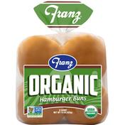 Franz Hamburger Buns, Organic