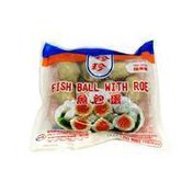 Jane-Jane Frozen Fish Balls W/Flying Fish Roe