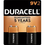 Duracell Coppertop 9V Alkaline Batteries Primary Major Cells