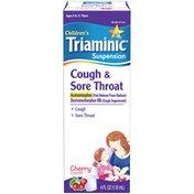 Triaminic CGH&SORE THRT CHRRY 4OZ