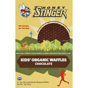 Honey Stinger Waffles, Organic, Kids', Chocolate