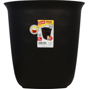 Glad Trashcan, with Bag Ring, Dimple, 4.5 Gallons