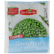Our Family Steamable Sweet Green Peas