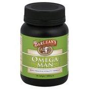 Barlean's Omega Man Supplement, 1000 mg, Softgels