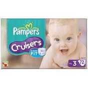 Pampers Cruisers Big Pack Size 3 Diapers