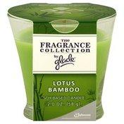 Glade Candle, Soy Based, Lotus Bamboo