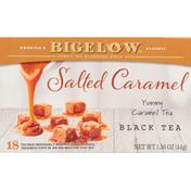 Bigelow Black Tea, Salted Caramel, Tea Bags