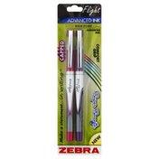 Zebra Pen, Bold Point (1.2 mm), Assorted Ink