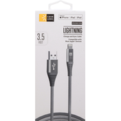 Case Logic Charge and Sync Cable, Lightning, Premium, 3.5 Feet