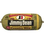 Jimmy Dean Premium Pork Country Mild Breakfast Sausage Roll