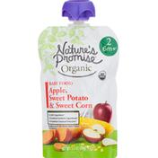 Nature's Promise Apple, Sweet Potato & Sweet Corn Baby Food