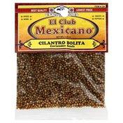 El Club Mexicano Coriander Seeds, Card