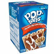 Kellogg's Pop-Tarts Breakfast Toaster Pastries, Frosted Chocolate Chip Cookie Dough