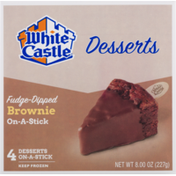 White Castle Desserts On-A-Stick Brownie