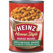 Heinz Home Style Applewood Smoke with Bacon & Bourbon Flavor Baked Beans