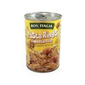 Bon Italia Pasta Rings & Meatballs In Tomato Sauce