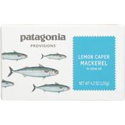 Patagonia Provisions Mackerel, Lemon Caper, Box