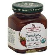 Stonewall Kitchen Jam, Organic, Strawberry Vanilla