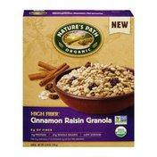 Nature's Path Organic High Fiber Cinnamon Raisin Granola Cereal
