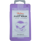 Sally Hansen Foot Mask, Hydrating, Spa Collection