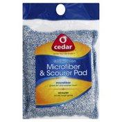 O Cedar Microfiber & Scourer Pad, Dual-Action