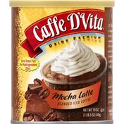 Caffe D'Vita Blended Iced Coffee, Mocha Latte