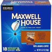 Maxwell House House Blend Medium Roast K-Cup® Coffee Pods