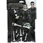 Fun World Skeleton Suspender Set