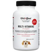 Well & Good Multi-Vitamin Chewable Tablets for Puppies