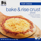 Food Lion Pizza, Bake & Rise Crust, Four Cheese, Box