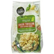 Culinary Tours Cheese Tortellini with Alfredo Sauce