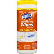Clorox Disinfecting Wipes Tub & Shower Classic Clean - 35 CT