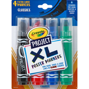 Crayola Poster Markers, Classics, Extra Large