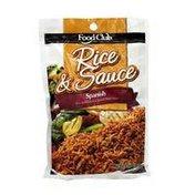 Food Club Rice & Sauce, Spanish
