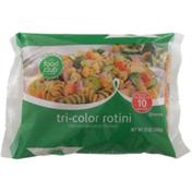 Food Club Enriched Macaroni Product, Tri-Color Rotini