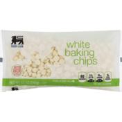 Food Lion Baking Chips, White, Bag